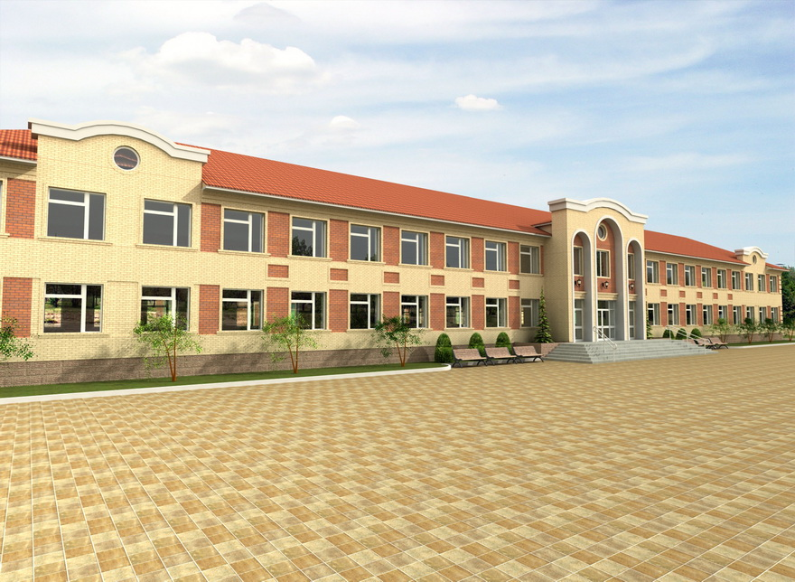 Construction of a secondary school for 150 students. Tersakkan village, Ulytau district
