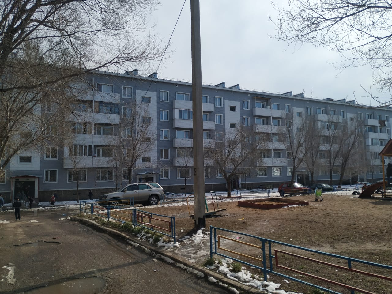 Apartment block, Temirtau, Karaganda region